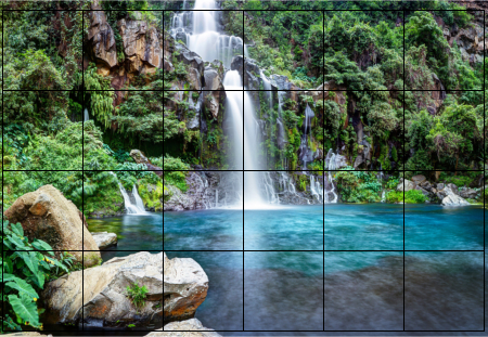 fliesenaufkleber fliesenbild fliesen aufkleber sticker meer strand wasserfall. Black Bedroom Furniture Sets. Home Design Ideas