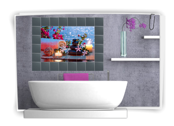 ... pvc mosaico wallpaper cucina adesivo di carta. Mattonelle cucina leroy