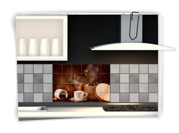fliesenaufkleber fliesenbild fliesen aufkleber k che kaffee kachel fliesenbilder. Black Bedroom Furniture Sets. Home Design Ideas