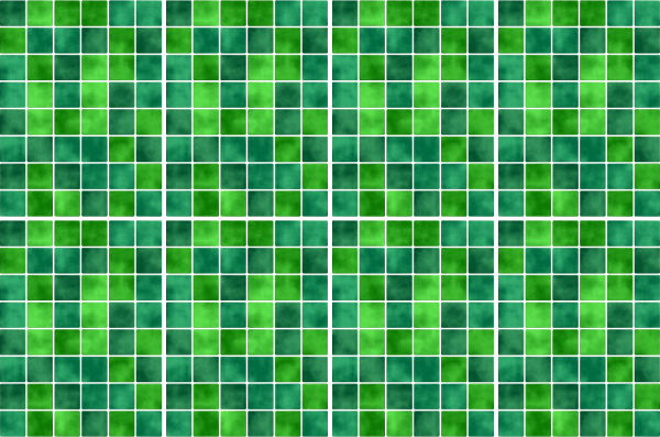20x25cm gr n fliesenaufkleber fliesen aufkleber fliesenimitat mosaik m4 - Selbstklebefolie mosaik ...