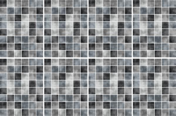 20x25cm grau fliesenaufkleber fliesen aufkleber fliesenimitat mosaik m4 ebay - Selbstklebefolie mosaik ...