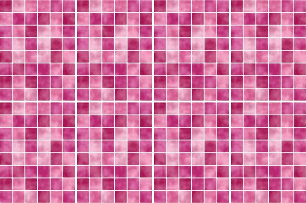 20x25cm pink rosa fliesenaufkleber fliesen aufkleber fliesenimitat mosaik m4pi - Selbstklebefolie mosaik ...