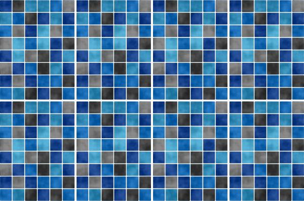 15x20cm blau fliesenaufkleber fliesen aufkleber fliesenimitat mosaik m5 - Selbstklebefolie mosaik ...
