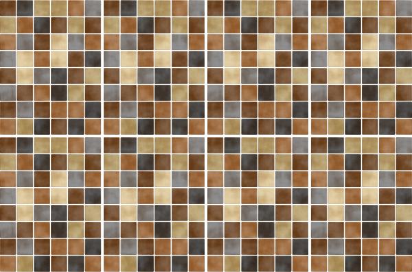 15x20cm braun fliesenaufkleber fliesen aufkleber fliesenimitat mosaik m5 - Selbstklebefolie mosaik ...