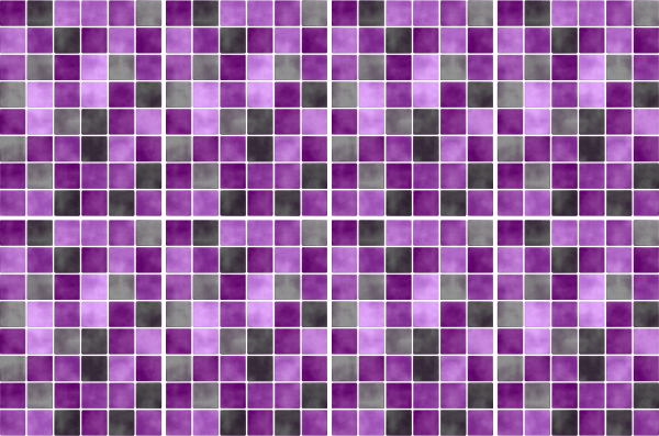 20x25cm lila fliesenaufkleber fliesen aufkleber fliesenimitat mosaik m5 ebay - Selbstklebefolie mosaik ...