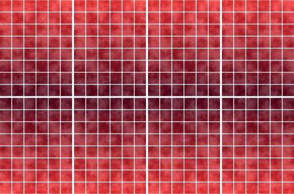 20x25cm rot fliesenaufkleber fliesen aufkleber fliesenimitat mosaik m6 - Selbstklebefolie mosaik ...