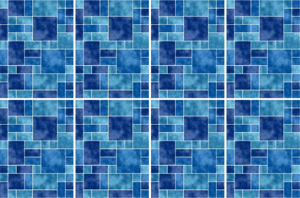 20x25cm blau fliesenaufkleber fliesen aufkleber fliesenimitat mosaik m8 - Selbstklebefolie mosaik ...