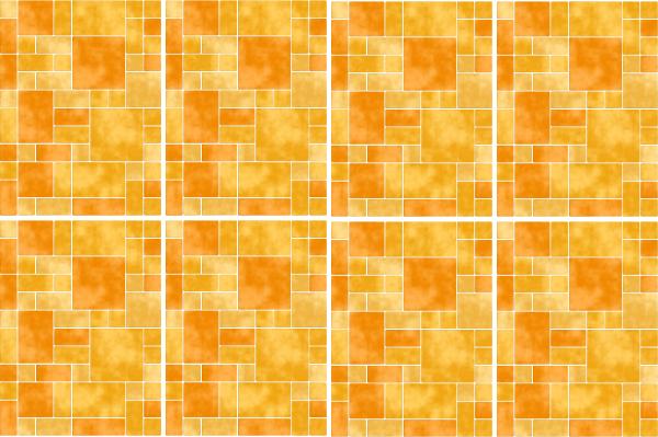 15x20cm gelb fliesenaufkleber fliesen aufkleber fliesenimitat mosaik m8 - Selbstklebefolie mosaik ...