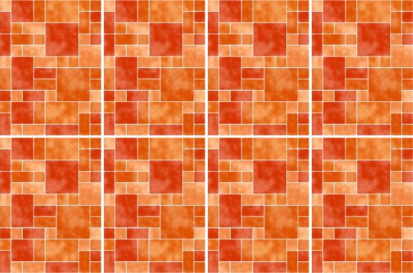 20x25cm orange fliesenaufkleber fliesen aufkleber fliesenimitat mosaik m8 - Selbstklebefolie mosaik ...