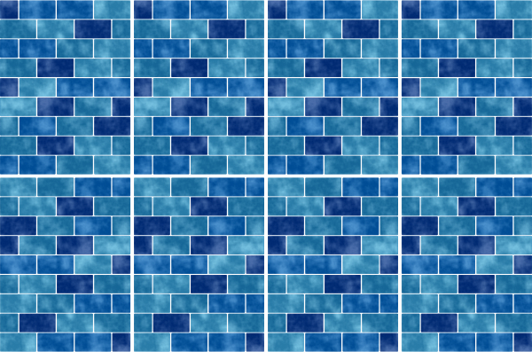 20x25cm blau fliesenaufkleber fliesen aufkleber fliesenimitat mosaik m9 - Selbstklebefolie mosaik ...