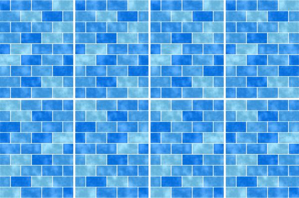 20x25cm hellblau fliesenaufkleber fliesen aufkleber fliesenimitat mosaik m9 - Selbstklebefolie mosaik ...