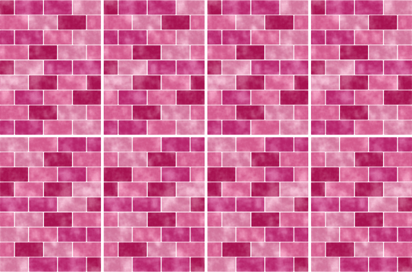 20x25cm pink rosa fliesenaufkleber fliesen aufkleber fliesenimitat mosaik m9 - Selbstklebefolie mosaik ...