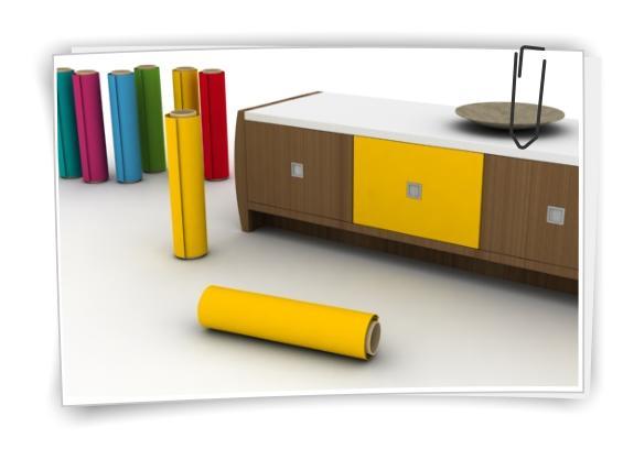 1m pellicola per mobili colorata plotter adesiva - Carta adesiva colorata per mobili ...