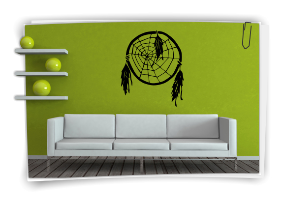 wandtattoo indianer traumf nger indian cowboy. Black Bedroom Furniture Sets. Home Design Ideas